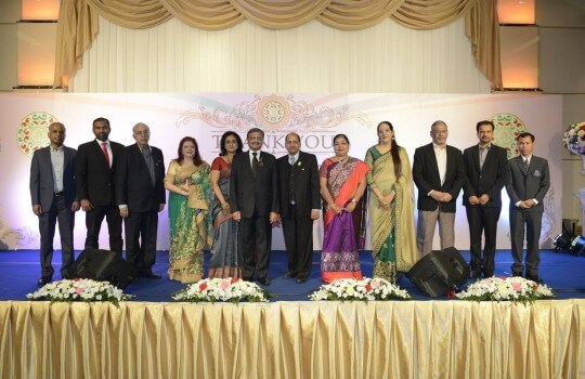 Thank you all for joining us at the grand celebration of Pravasi Bharatiya Samman Award. It was a big success and your honourable presence made it a memorable life event for us.
