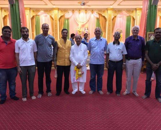 (25 Feb 2017) – My sincere thanks to the Executive Committee members of Shri Geeta Ashram Thailand for their Pravasi Bharatiya Samman Award felicitations.