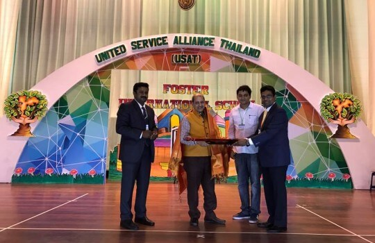 19 March 2017: Thank You All the Executive Committee Members of the United Service Alliance Thailand for Your Pravasi Bharatiya Samman Award 2017 Felicitations.