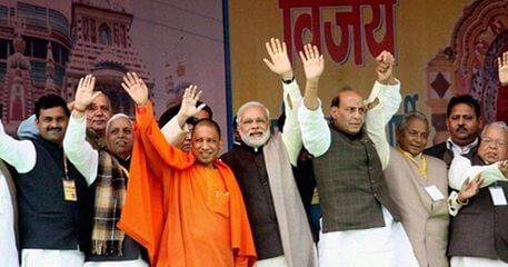 Yogi Adityanath, the firebrand BJP leader took over as the 32nd Chief Minister of Uttar Pradesh.